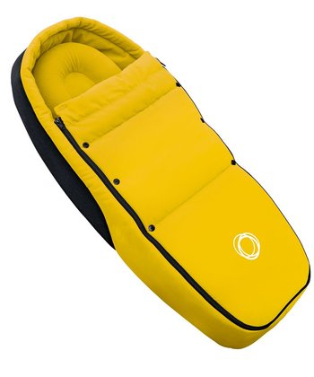 Bugaboo foot muff baby cocoon for Bee Hellgelb 2015 - большое изображение