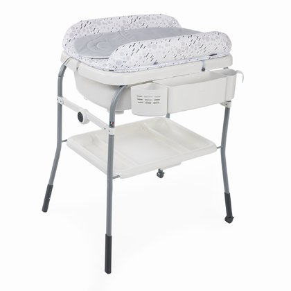 Chicco Bade-und Wickelkombination Cuddle & Bubble Comfort COOL GREY 2019 - Großbild