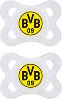 MAM Soother Borussia Dortmund - The jaw fair, balanced cleaner consists of special MAM silk teat silicone.