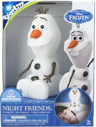 Olaf nightlight Frozen spot light 2015 - Image de grande taille