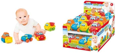 Baby car Soft & Co - The beautifully designed cars offer great ways to play. Even the little ones have colorful fun with the soft and colorful toy cars.