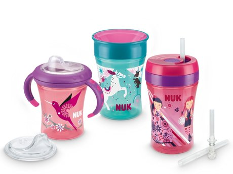 NUK Learn-to-drink Training Set Girl 2017 - Image de grande taille