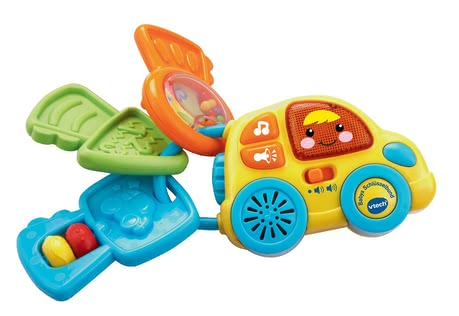 VTech Baby keyring - Whether shake or press, with baby keychain by VTech game fun is guaranteed.