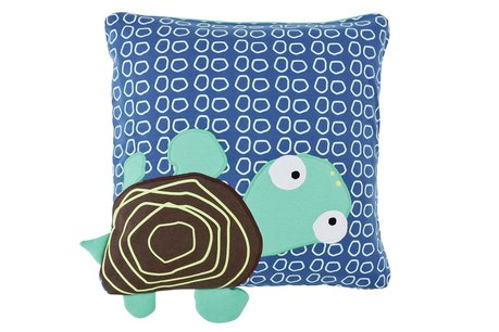 Lässig Wildlife cushion -  The Wildlife cushion by Lässig should not be missed in any children's room. The colourful designs make it a real eye-catcher.