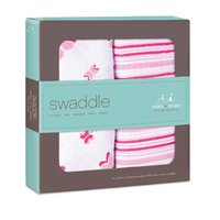 aden+anais classic swaddle 2-pack - The great versatile swaddles from aden+anais will soon become an important accessory in your everyday live with your little one.