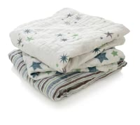 aden+anais musy – muslin squares Set of 3 - The gentle musy - muslin squares made of finest cotton muslin are a versatile and practical companion in everyday life with your little one.