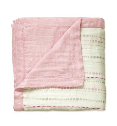 aden+anais Bamboo Dream cuddly blanket solid rose 2016 - Image de grande taille