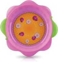 Nuby plate - WOW... the eye-catcher on the table! With lots of fun, your little Darling from about 18 months will enjoy his food.