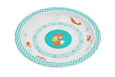 Lässig Plate -  Eating on your own will be even more fun with the plate by Lässig>/li>