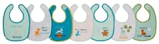 Lässig Bib Lela Weekdays -  The Lela weekdays bibs by Lässig provide a bib for every day of the week and comes along in great designs