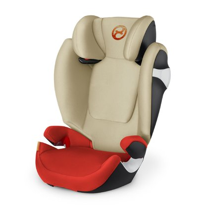 Cybex Kindersitz Solution M Autumn Gold - burnt red 2018 2018 - Großbild