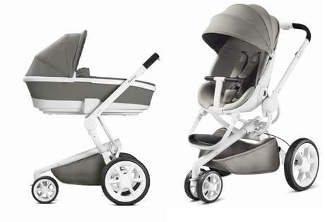 Quinny Moodd including Dreami carrycot - The Quinny Moodd convinces you with comfort and flexibility. The slim frame is not only very stylish but also very suitable as travel system.