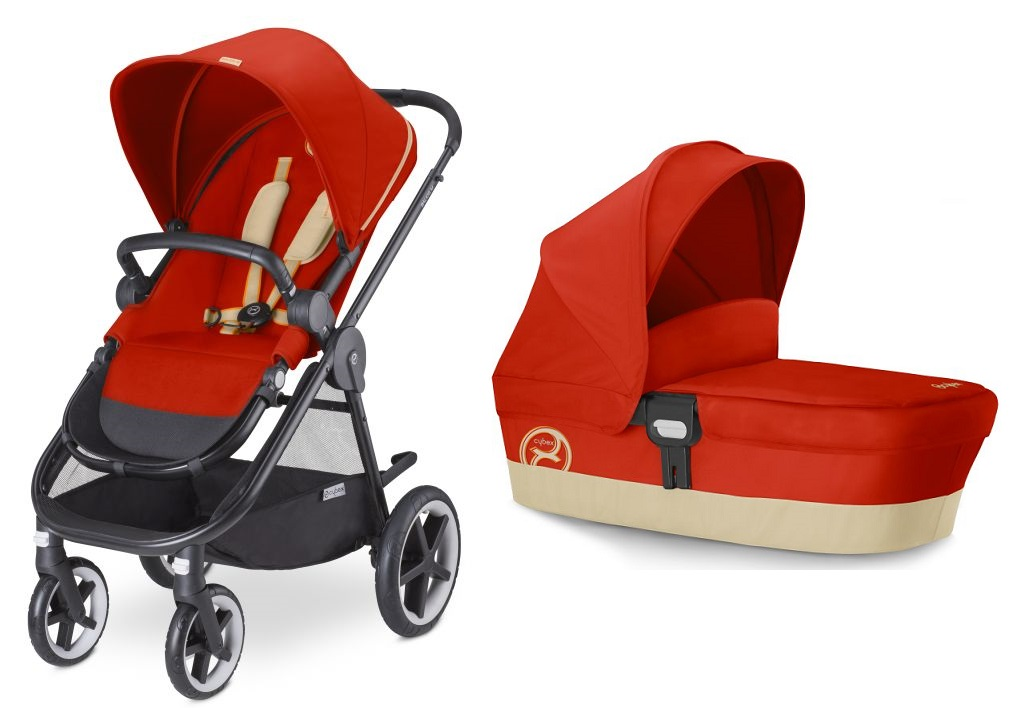 Cybex Stroller Balios M including carrycot attachment M ...