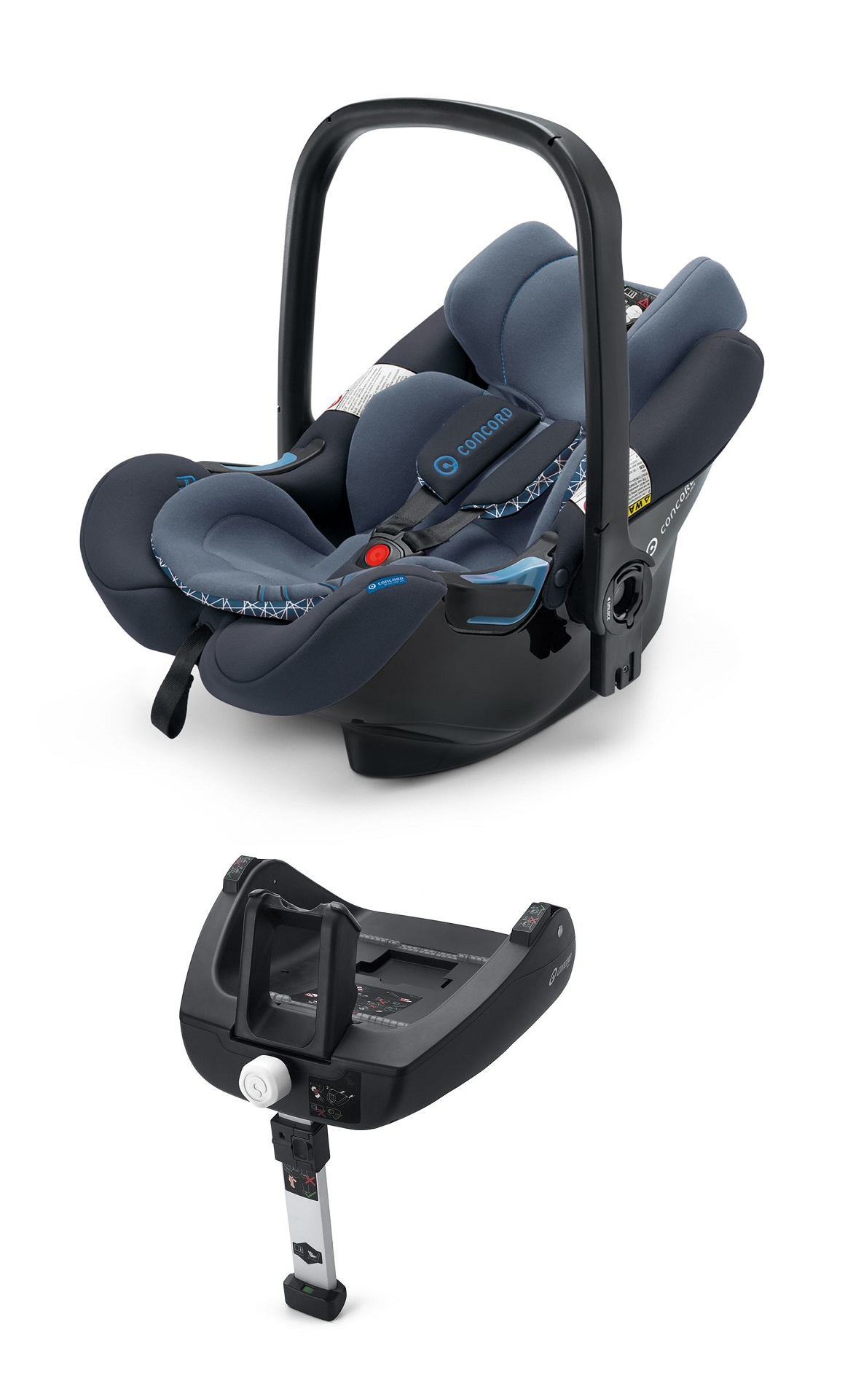 concord infant carrier air safe including airfix isofix. Black Bedroom Furniture Sets. Home Design Ideas
