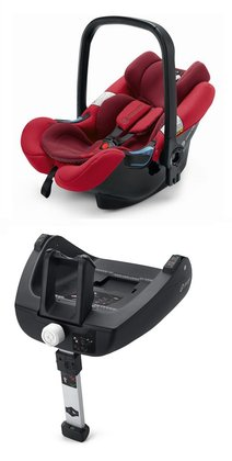 Concord Babyschale AIR.SAFE inklusive Airfix Isofix-Base Ruby Red 2015 - Großbild