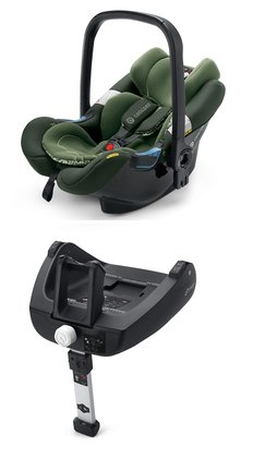 Concord Babyschale AIR.SAFE inklusive Airfix Isofix-Base Jungle Green - Limited Edition 2016 - Großbild