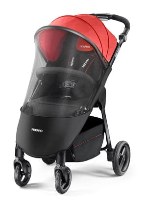Recaro mosquito net for sport stroller Citylife -  The sport stroller Citylife can easily and quickly be covered with the mosquito net and protects your child against annoying insects