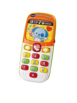 VTech Baby Animal Learning Phone - The VTech learning smart phone with animals can be used with your little one aged 9 months and offers a lot of fun