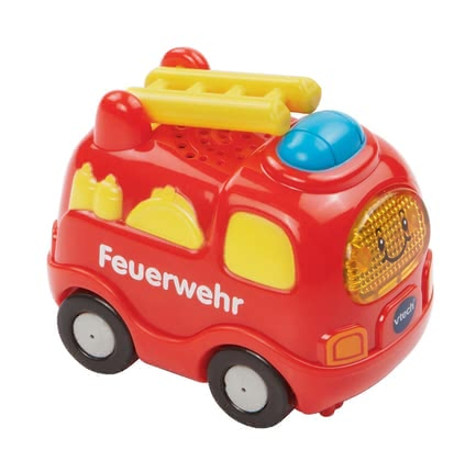 VTech 嘟嘟玩具消防車 -  The VTech firefighters are making funny siren and pass-by noises and can be used by your little one aged 12 months
