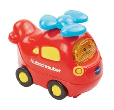 VTech 嘟嘟玩具直升機 -  The VTech helicopter is equipped with a movable propeller and can be used with children aged 12 months.>/li>