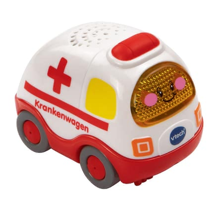 VTech 嘟嘟玩具救護車 -  The VTech ambulance will quickly arrive to wherever it is needed