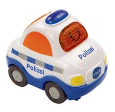VTech 嘟嘟玩具警車 - The VTech police car is equipped with different sirens and pass-by noises and can be used by your little one aged 12 months.