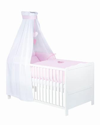 Zöllner 3-piece cot set with appliqué Little Princess 2015 - Image de grande taille