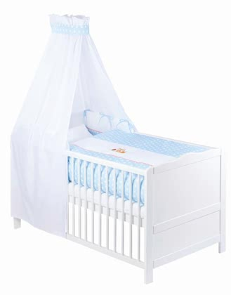 Zöllner 3-piece cot set with appliqué Little Fox 2015 - Image de grande taille