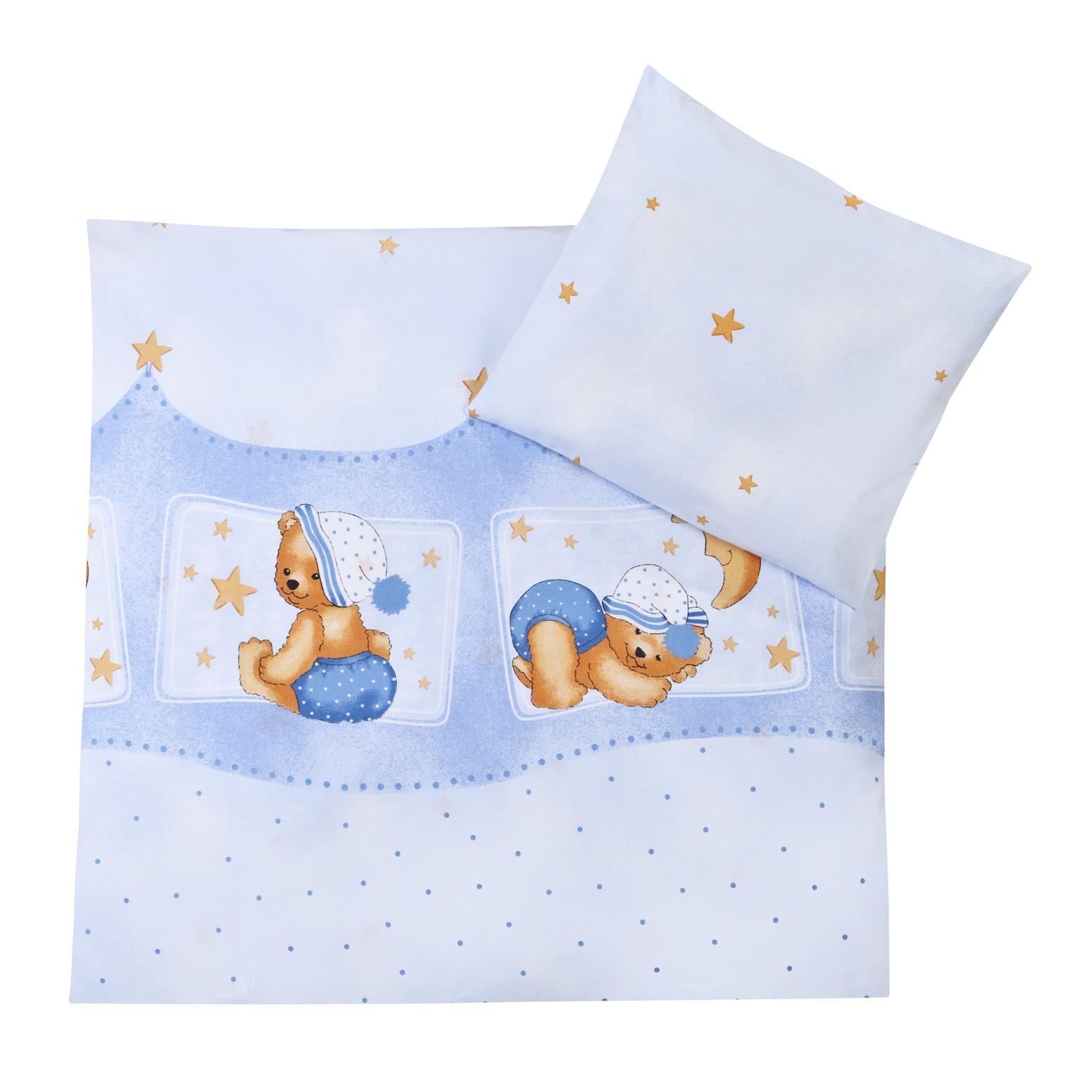 Ropa de cama 2 piezas dise o oso color azul zoellner - Ropa de cama original ...