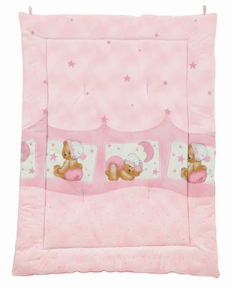 Zöllner Play mat Cuddly Bear, pink 2016 - 大图像