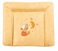 Zöllner Softy changing mat, Cuddly Bear, apricot - Wrapping is not only practical, but also enjoyable for the new parents and the little sunshine, is using a changing mat from the tax collector home advan...