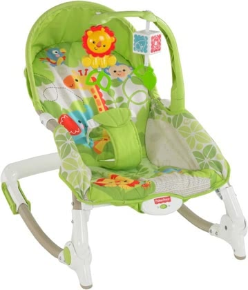 Fisher-Price 2-in-1 Kompakt-Schaukelsitz 2016 - Großbild