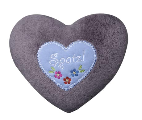 Zöllner Cozy cushion with appliqué, Little Sweetheart 2015 - large image