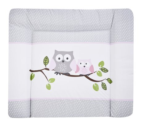 Zöllner Softy changing mat, Little Owls, pink 2017 - Image de grande taille
