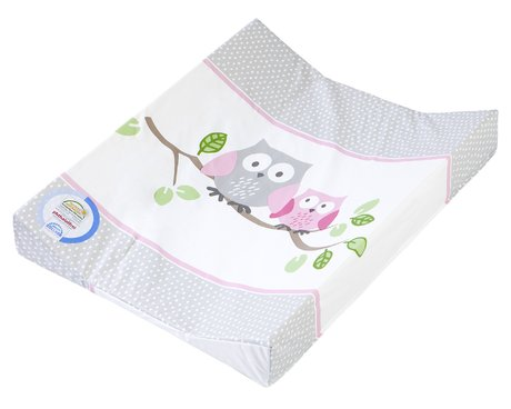 Zöllner Double-wedge changing mat Little Owls, pink 2016 - large image