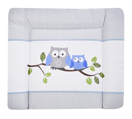 Zöllner Softy changing mat, Little Owls, blue 2017 - Image de grande taille