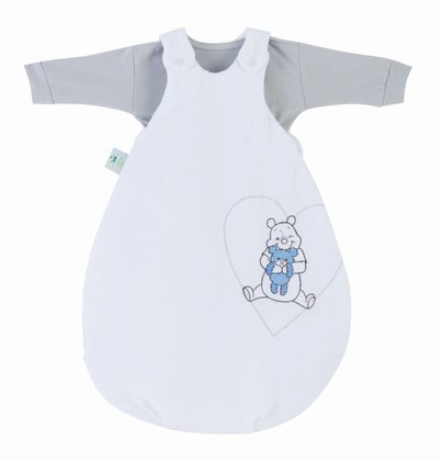Zöllner Sleeping bag set Cozy Pooh My Little Sweetheart, blue 2015 - 大圖像