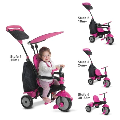 SmarTrike tricycle Glow Pink - Image de grande taille
