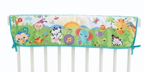 Fisher-Price 2-in-1 rainforest cot projector 2015 - large image