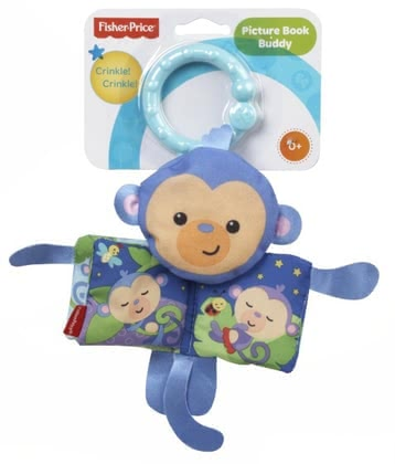 Fisher-Price Picture book - Monkey 2016 - large image