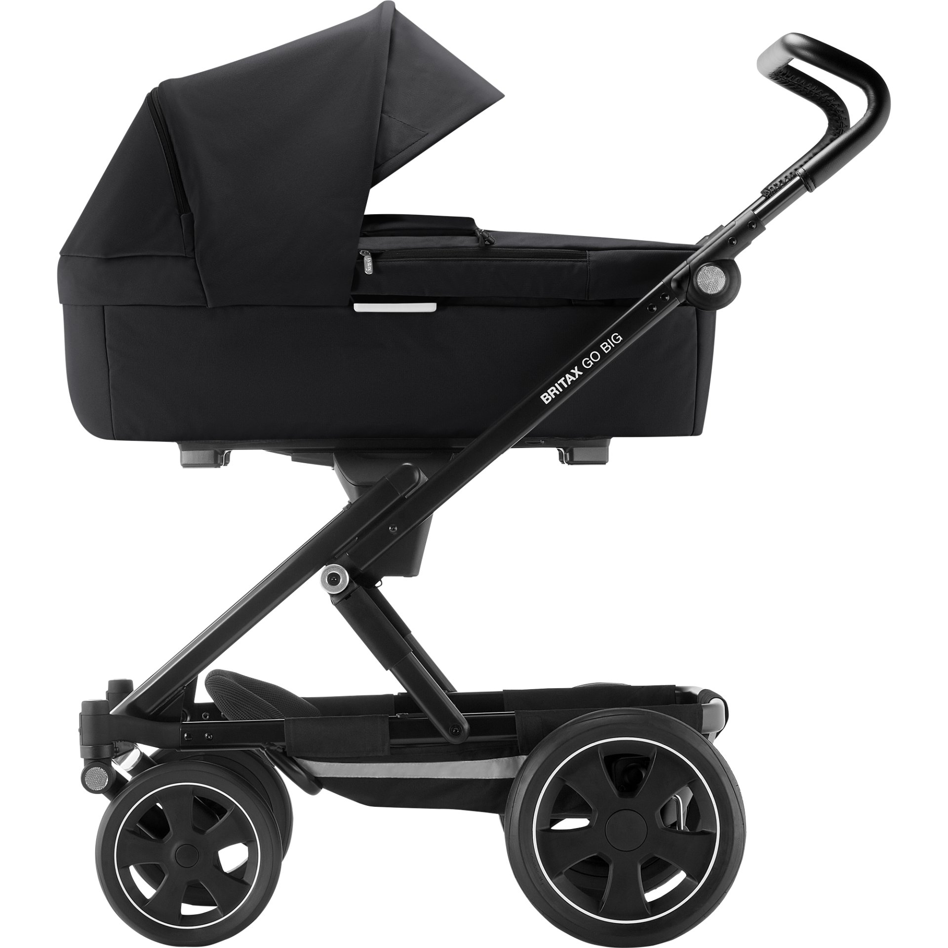 britax r mer go kinderwagen aufsatz prambody 2018 cosmos black online kaufen bei kidsroom. Black Bedroom Furniture Sets. Home Design Ideas