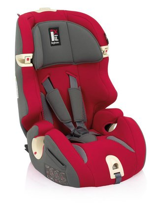 Inglesina car seat Prime Miglia I-Fix -  This seat grows your child and can be used for several years – it's suitable for children aged 9 months to 12 years with a weight from 9kg to 36kg. It belongs to the car seat group 1/2/3 and is approved according to the norm ECE R44/04.