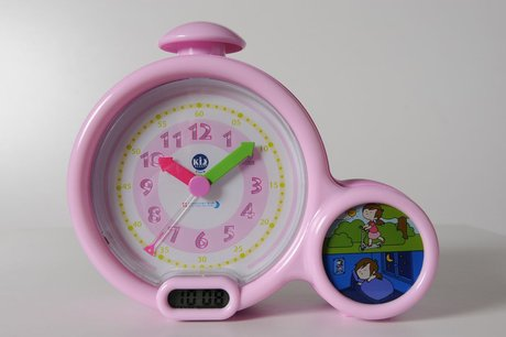 Funny KID´ Sleep Clock Rosa 2016 - Großbild