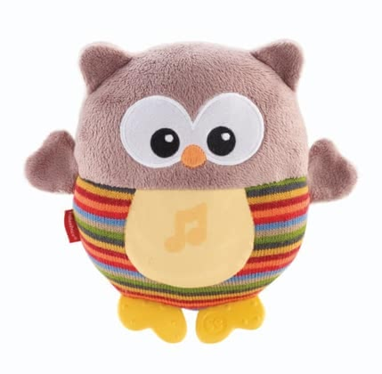 Fisher-Price glowing owl - brown 2016 - Image de grande taille