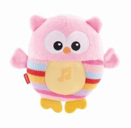 Fisher-Price glowing owl - pink 2016 - Image de grande taille