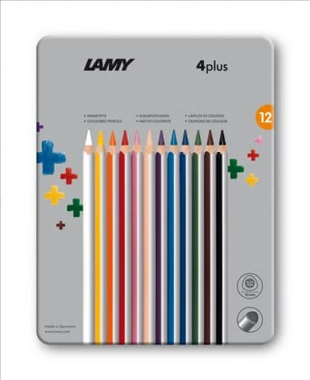 Lamy 4plus Set of 12 metal box 2016 - large image