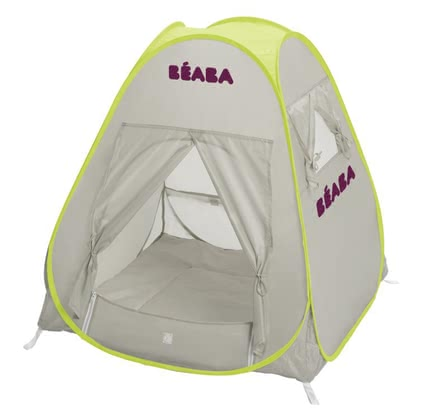Beaba Tent UV resister -  Anti ultra-violet tent protects your baby from sunlight and rain.