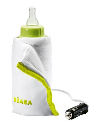Beaba Baby bottle and food-jar travel warmer Bib`Car -  The Beaba Bib`Car is a must have on your travels.