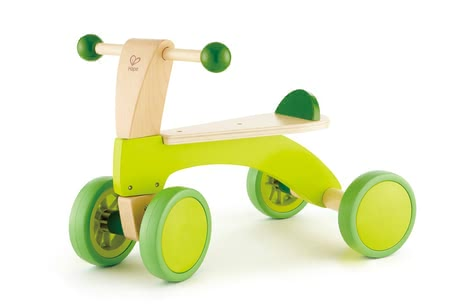 Hape little bike - Little racers beware! On the send Hape slip wheel you can sit up simply on 4 wheels who explore the world - and go BB´s.