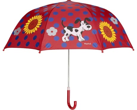 Playshoes umbrella for children, puppy red 2016 - 大圖像